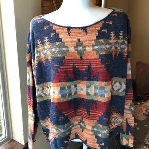 Ralph Lauren patterned sweater
